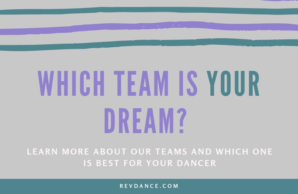 Which Performance Team is YOUR Dream? - Revolution Dance Studio